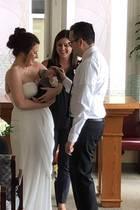 Amanda und Edwin geben sich im Krankenhaus das Ja-Wort