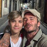 14. August 2019  Romeo Beckham ist mittlerweile schon 16 Jahre, alt genug also, um im Italien-Urlaub mit Papa David abends um die Häuser von Florenz zu ziehen.