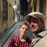 14. August 2019  Romeos Bruder Cruz ist zwar erst 14, bei der abendlichen Männertour aber natürlich auch mit dabei.