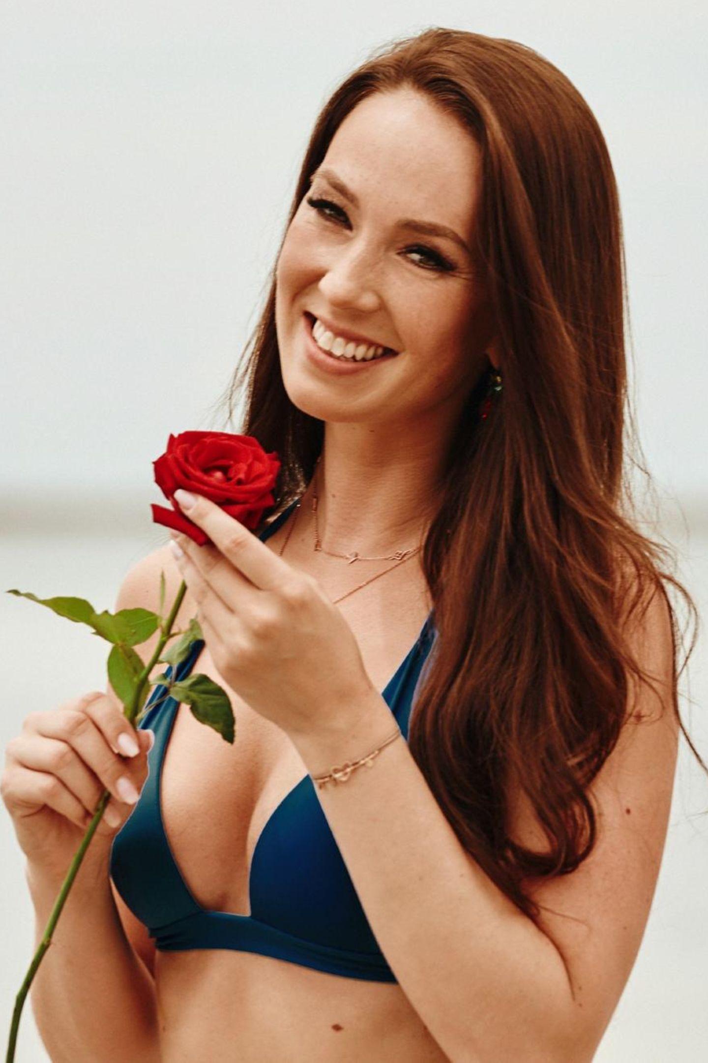 """Christina Grass (30)   Sie hat bei """"Der Bachelor"""" 2019 sehr fest mit einer Rose gerechnet. Andrej Mangold sah das anders und hat sie in der fünften Woche nach Hause geschickt."""