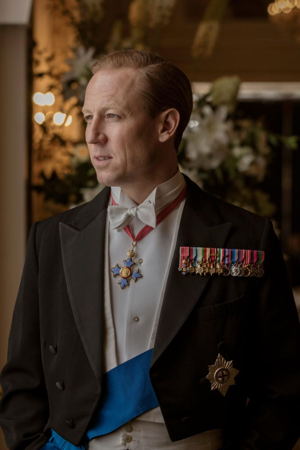 "Tobias Menzies als Prinz Philip in der dritten Staffel der Netflix-Serie ""The Crown"""