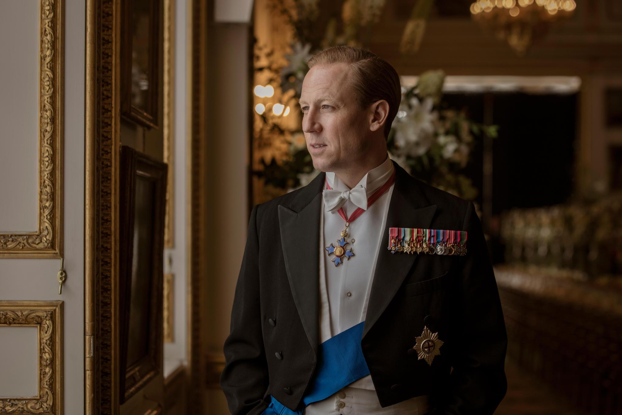 """Tobias Menzies als Prinz Philip in der dritten Staffel der Netflix-Serie """"The Crown"""""""