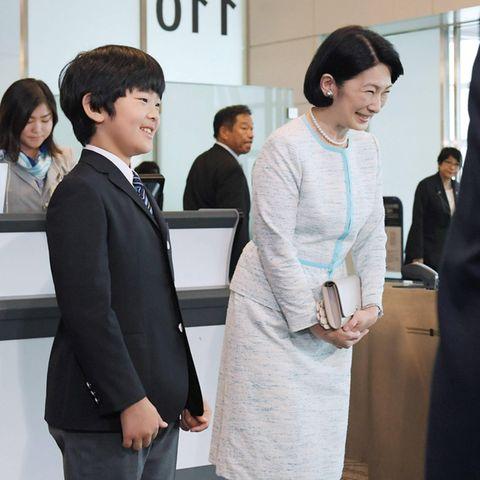 Prinz Hisahito und Prinzessin Kiko