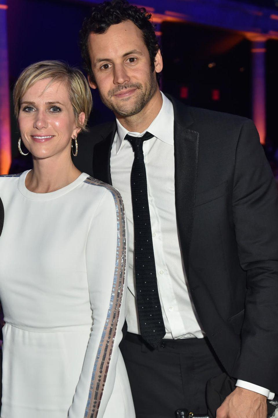 Kristen Wiig mit ihrem Verlobten Avi Rothman