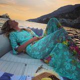 Das sind wohl die entspanntesten Flitterwochen. Heidi Klum genießt das Leben als Ehefrau in vollen Zügen.