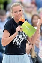 Andrea Kiewel beim ZDF-Fernsehgarten