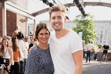 Stephanie Brungs und Christian Wackert