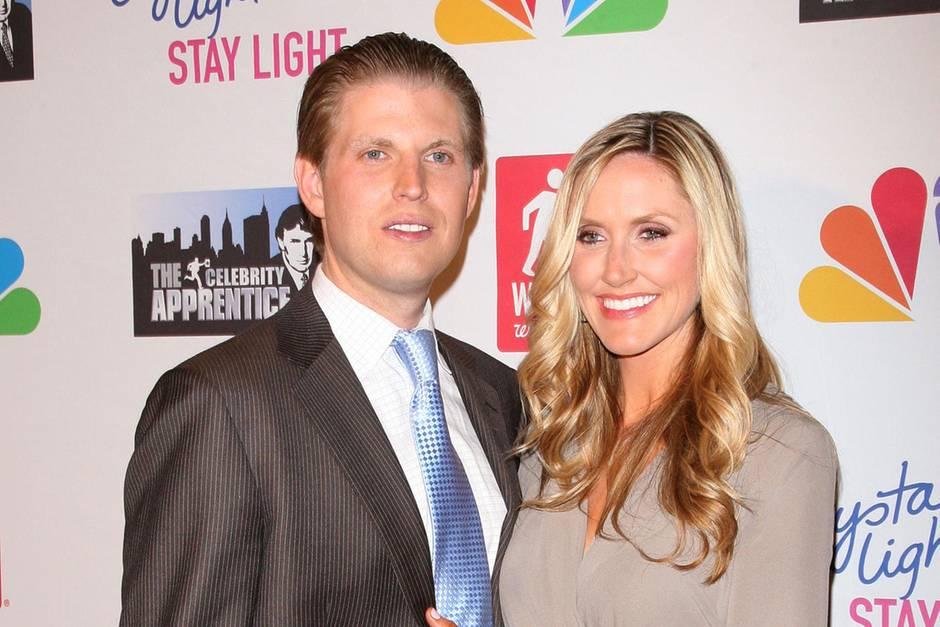 Eric und Lara Lea Trump