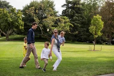 Jared Kushner, Ivanka Trump und die KinderArabella Rose Kushner,Theodore James Kushner undJoseph Frederick Kushner