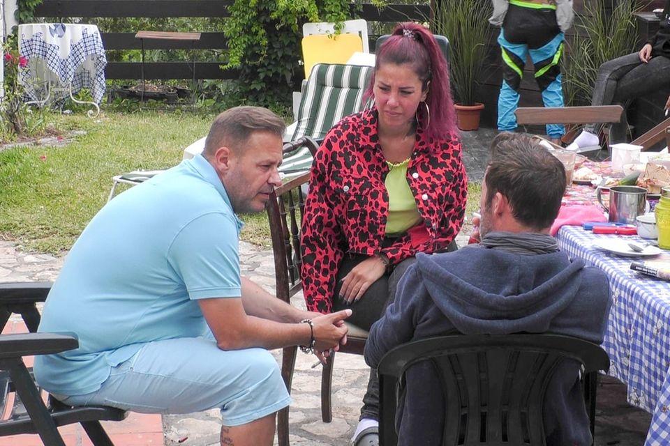 """Willi Herren, Kate Merlan und Benjamin Boyce haben sich im """"Sommerhaus der Stars"""" immer gut verstanden."""