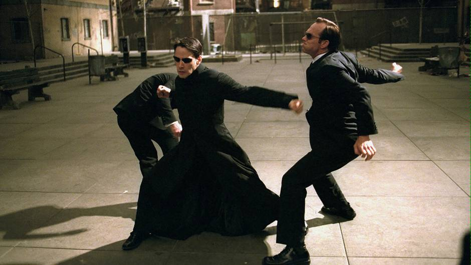 Keanu Reeves als Neo