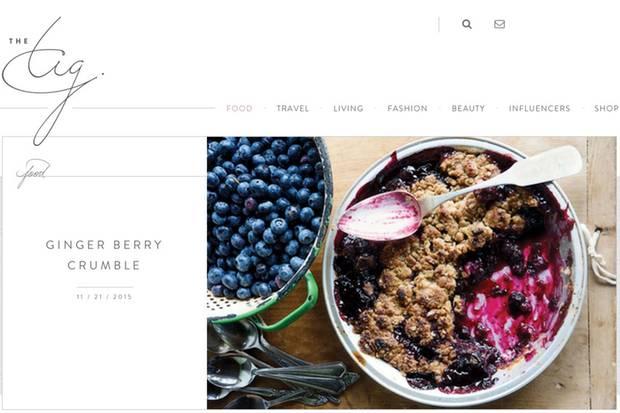 Beeren-Crumble nach dem Rezept von Meghan Markle