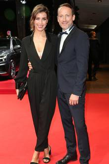 Schauspieler Wotan Wilke Möhring und Freundin Cosima Lohse.