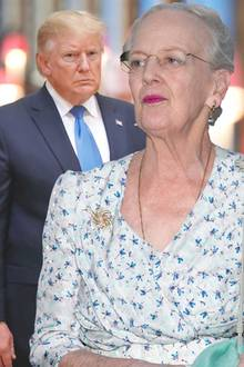 Donald Trump, Königin Margrethe