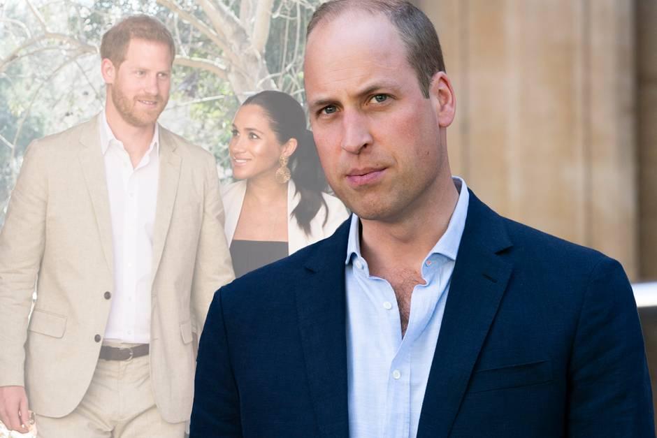 Prinz Harry, Herzogin Meghan und Prinz William