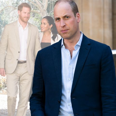 Prinz Harry, Herzogin Meghan und Prinz William