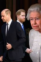 Prinz William, Prinz Harry und Queen Elizabeth