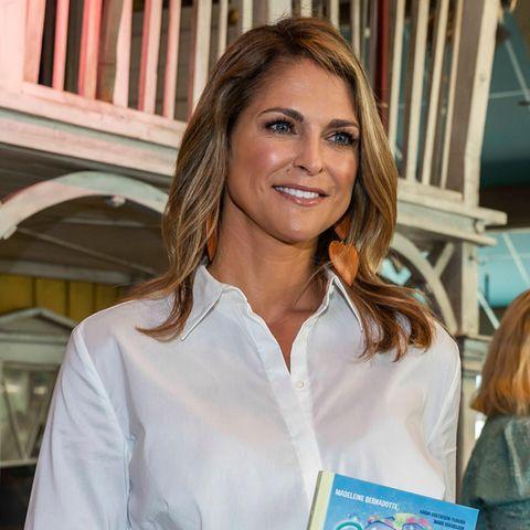 Prinzessin Madeleine präsentiert stolz ihr Kinderbuch