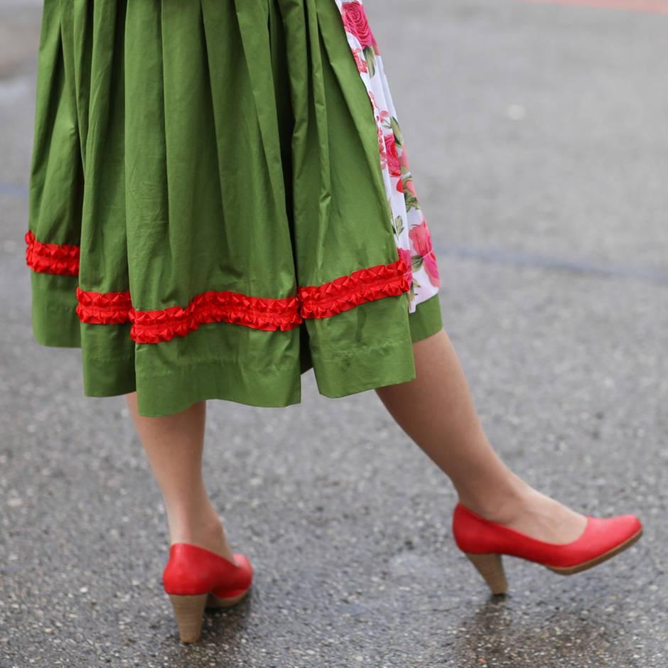 Diese Schuhe trägt Frau am besten zur Tracht