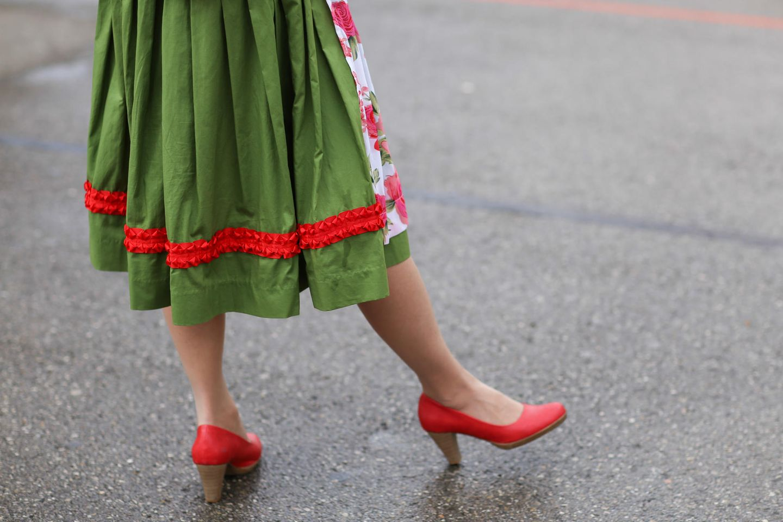 Schuhe zum Dirndl, Schuhe, Dirndl, Oktoberfest, Wiesn