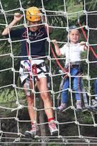 22. August 2019  Schon nach kurzer Zeit klettert die Kleine wie ein Weltmeister.