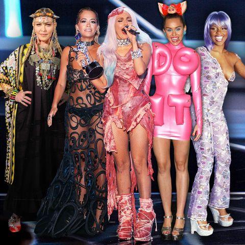 Das sind die schlimmsten Looks der MTV Video Music Awards aller Zeiten