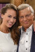 Caroline Bosbach und Vater Wolfgang Bosbach