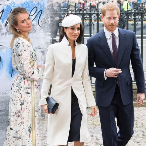Cressida Bonas, Herzogin Meghan und Prinz Harry