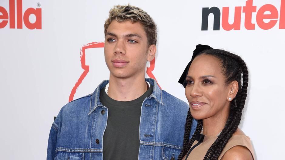 Barbara Becker und ihr jüngster Sohn Elias.