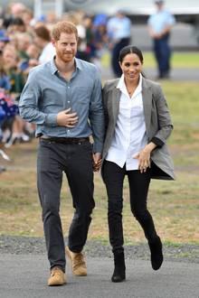 Prinz Harry + Herzogin Meghan im November 2018