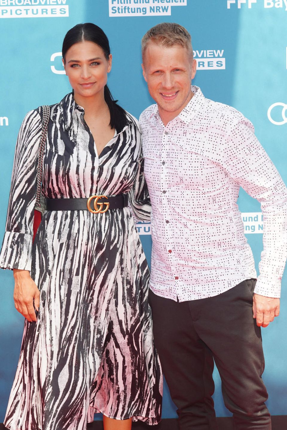Amira Aly und Oliver Pocher