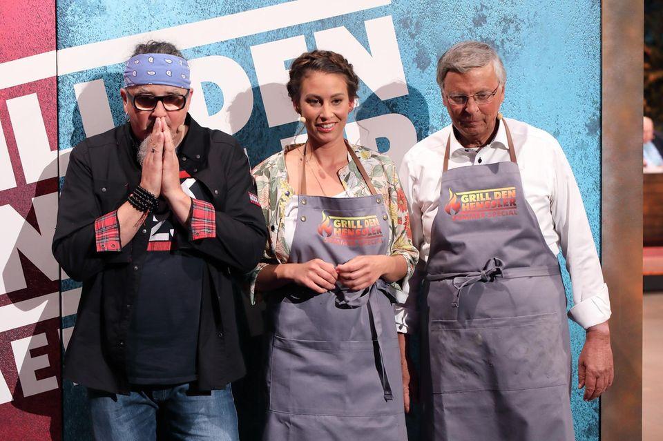 Stefan Marquard, Caro Bosbach und Wolfgang Bosbach