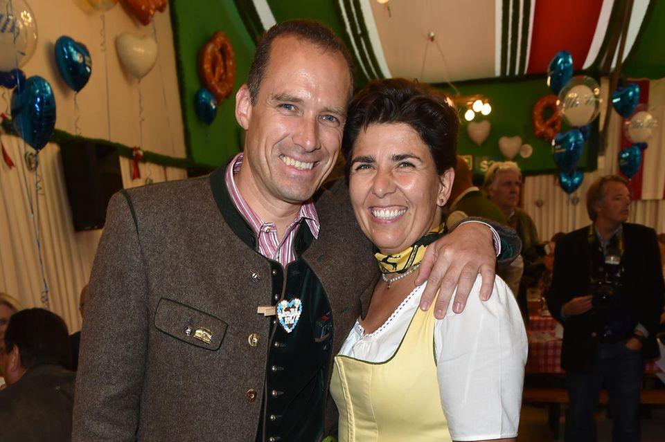 Peter Inselkammer jr. und Ehefrau Katharina Inselkammer