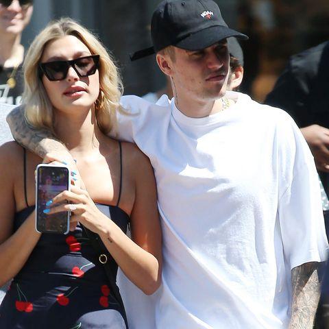 Hailey Baldwin und Justin Bieber