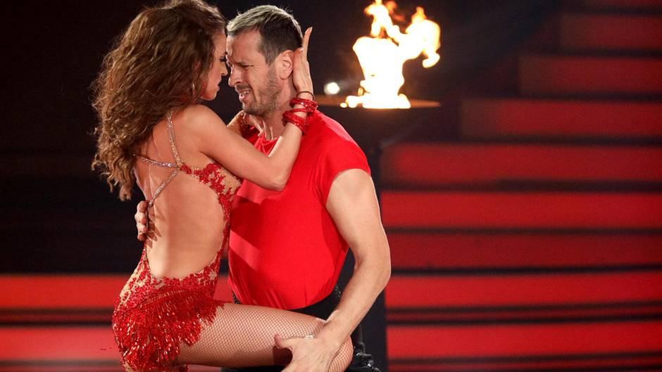 "Pascal Hens und Ekatarina Leonova bei ""Let's Dance 2018"""