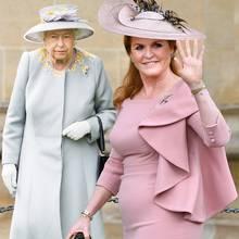 Die Queen und Sarah Ferguson