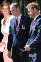Prinzessin Diana, Prinz William und Prinz Harry