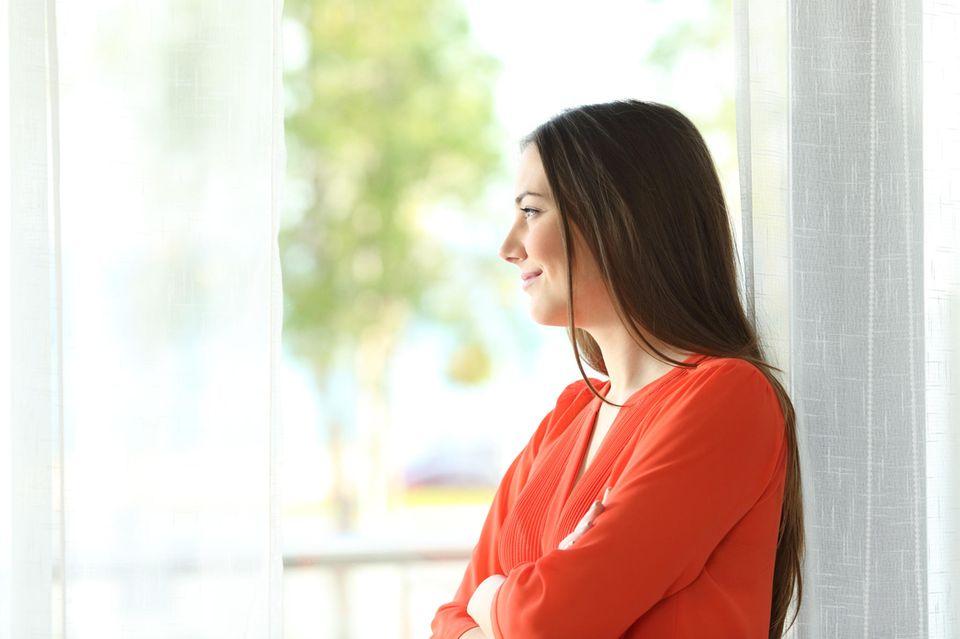 Ein Blick aus dem Fenster entstresst