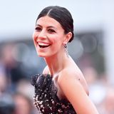 Alessandra Mastronardi ist die Freude über den Start der 76. Filmfestspiele von Venedig ins Gesicht geschrieben.
