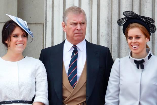 Prinzessin Eugenie, PrinzAndrew, Prinzessin Beatrice