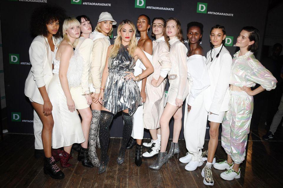 Rita Ora und Deichmann präsentieren erste gemeinsame Schuh-Kollektion