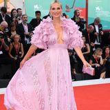 Glamour pur! Molly Sims in einem Mädchentraum in rosa von Zuhair Murad.