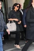 """Herzogin Meghan am 19. Februar 2019 in New York vor dem """"The Mark Hotel""""."""