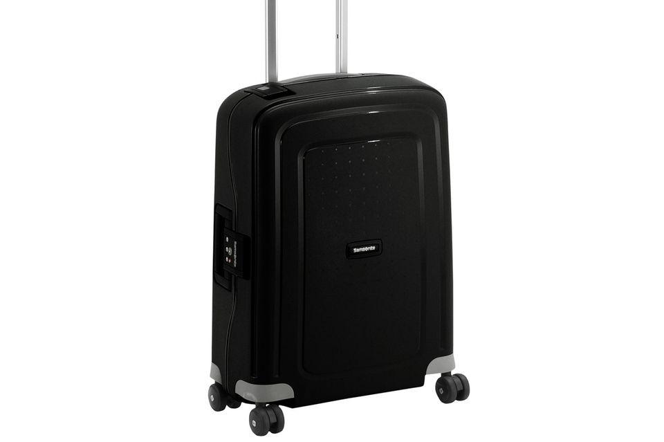 Samsonite S Cure Spinner 4-Rollen-Kabinentrolley 55 cm - black über www.koffer-direkt.de