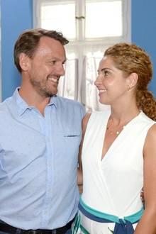 """""""GZSZ"""": Robert und Nina freuen sich über ihre gemeinsame Zukunft."""