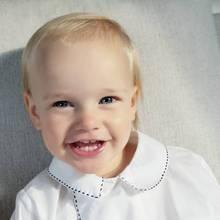"""31. August 2019  Happy Birthday, kleiner Prinz. Prinz Gabriel feiert heute seinen zweiten Geburtstag. Zu diesem Anlass veröffentlichen Prinzessin Sofia und Prinz Carl Philip dieses süße Foto ihres """"neugierigen, charmanten und geliebten Gabriel"""" auf Instagram."""