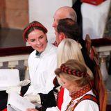 Die Prinzessin nimmt hinter ihrem Vater Haakon übrigens den zweiten Platz in der norwegischen Thronfolge ein.