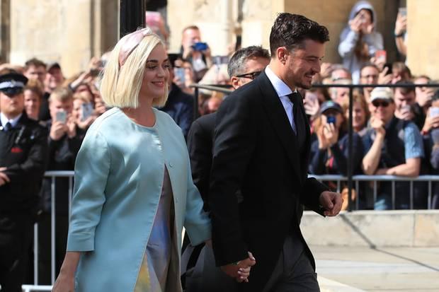 Katy Perry und Orlando Bloom bei Ellie Gouldings Hochzeit