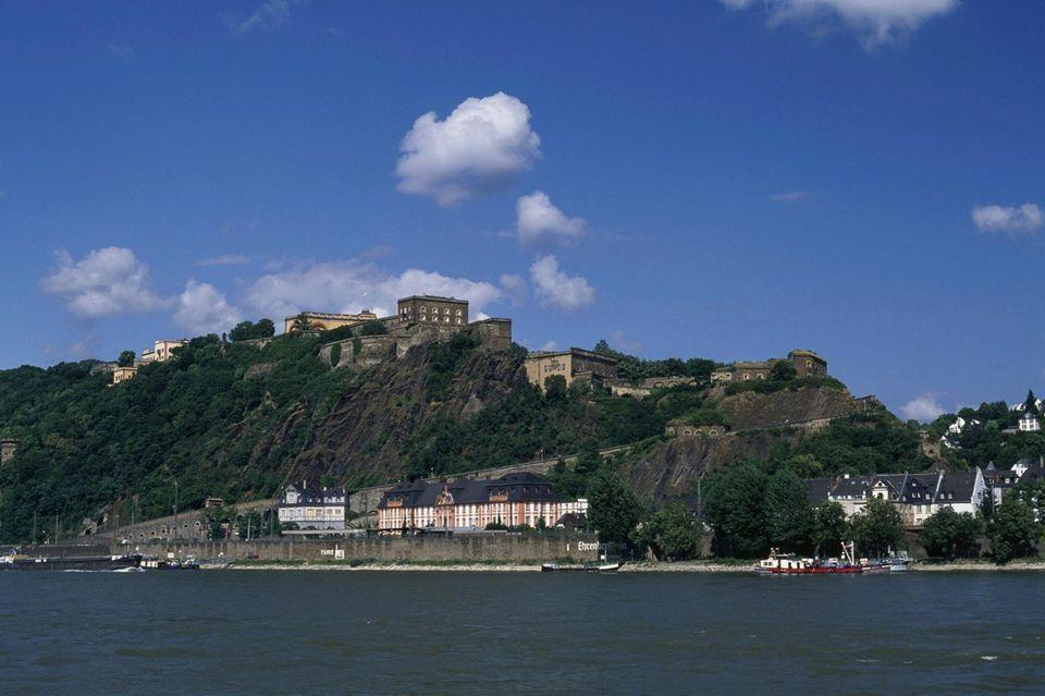 Koblenz und die Rheinregion bieten eine malerische Kulisse.