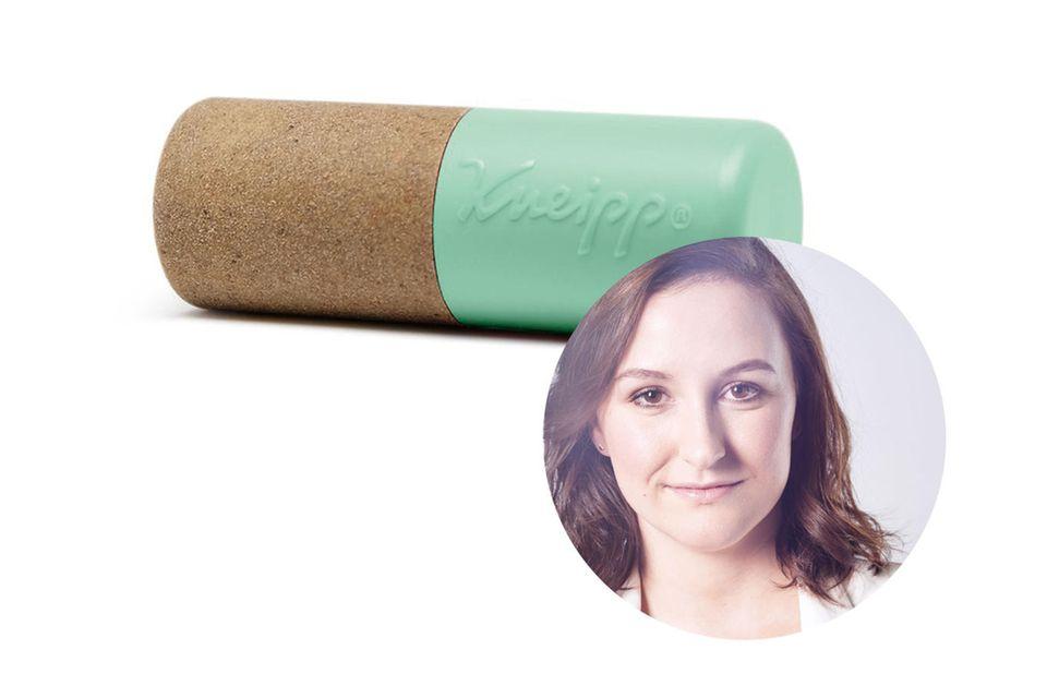 Redakteurin Lisa hat die Hydro-Lippenpflege vonKneipp getestet.